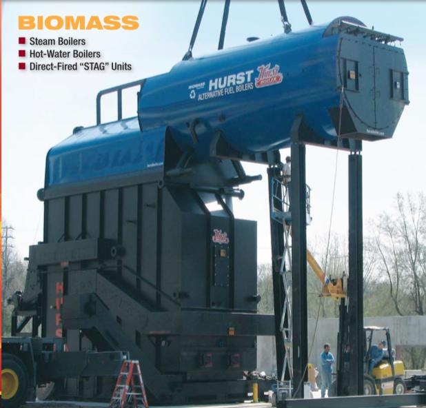 Calderas de biomasa Image